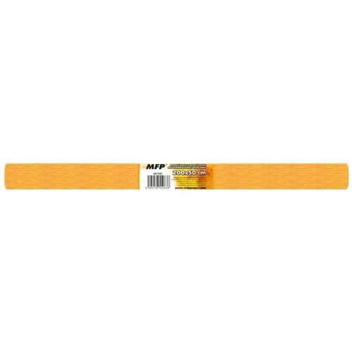 MFP krepový papír role 50x200cm neon oranžový světlý