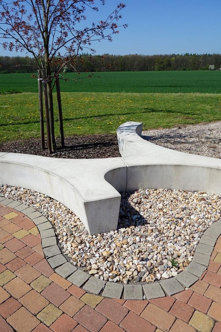 betonový sedák