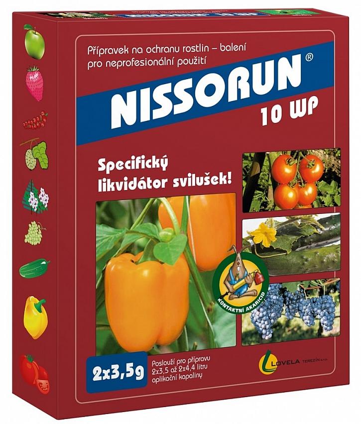 Svilušky účinně odstraní přípravek Nissorun