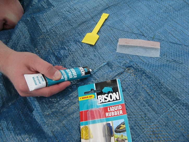 Opravy tekutou gumou