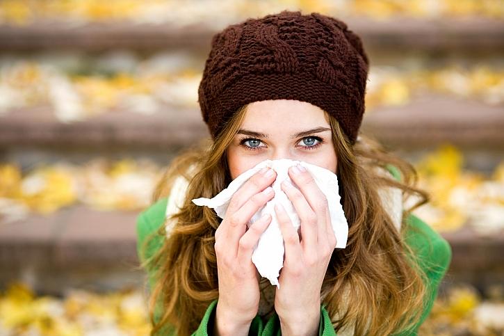 Chraňte se před podzimní nemilou klasikou - virózou a dalšími nemocemi (Zdroj: Depositphotos)