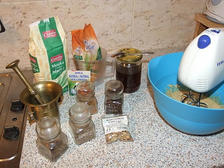 Recept na rychlé velikonoční perníčky