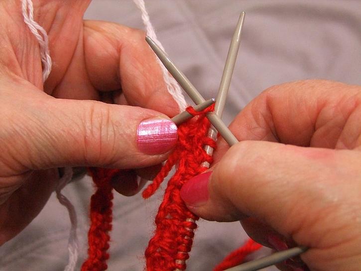 Pletení druhé řady