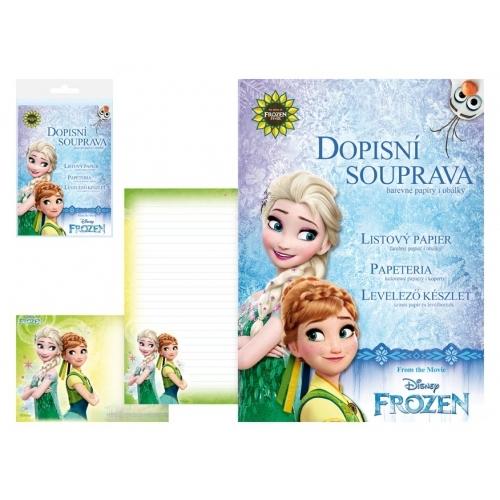 MFP dopisní papír barevný LUX 5+10 Disney (Frozen 2)