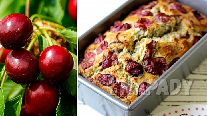 Recepty s třešněmi: makový chlebíček