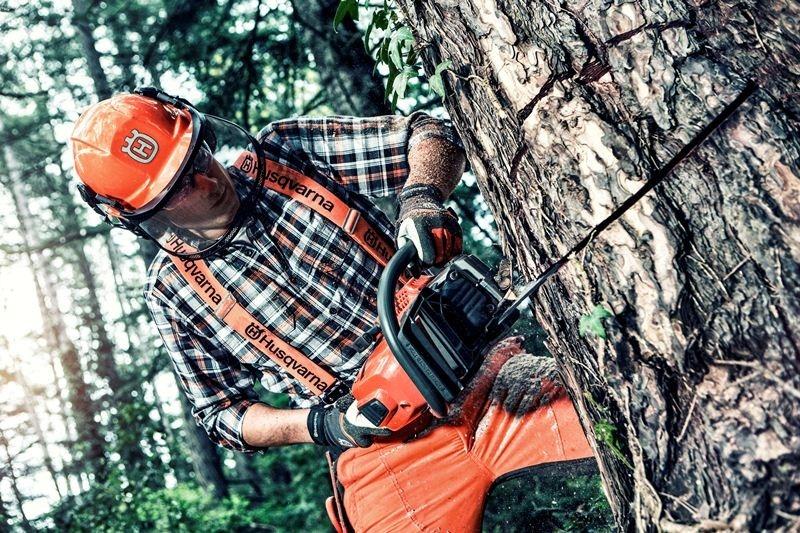 Pracujte s řetězovou pilou bezpečně!
