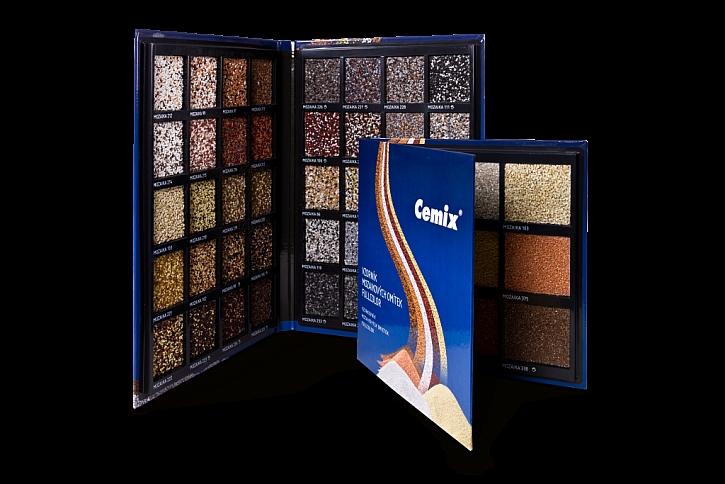Zbrusu nové módní odstíny mozaikových omítek Cemix