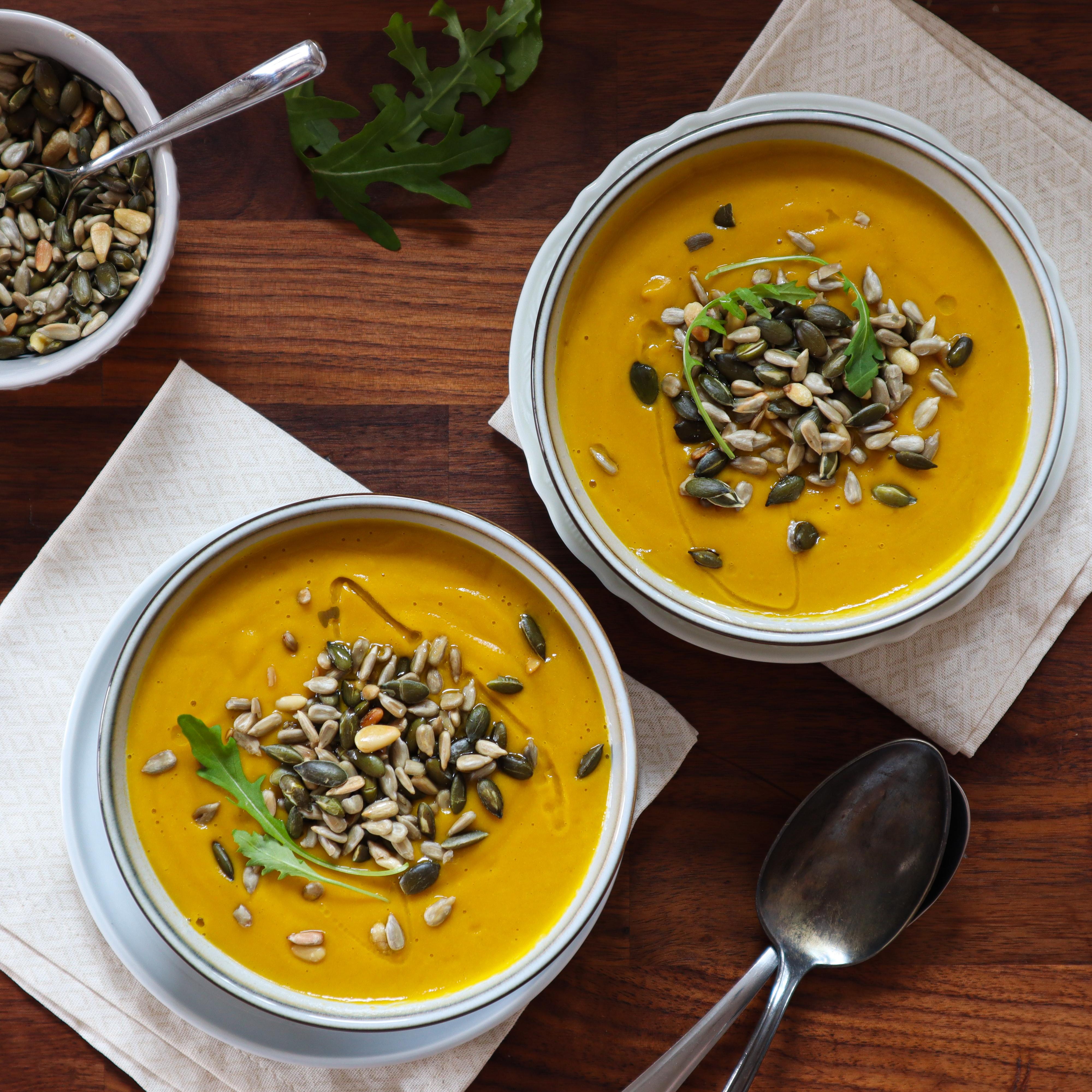 Tip na zdravou a chutnou večeři: batátovo-mrkvový krém
