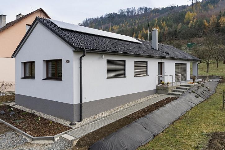 Pasivní dům projektovaný pomocí BIM