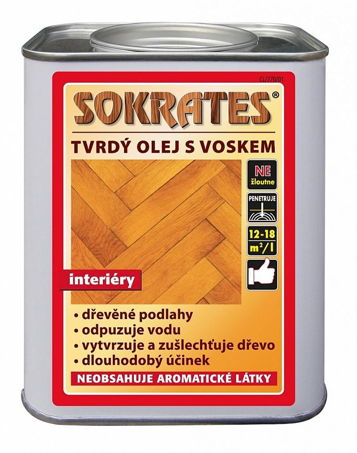 Tvrdý olej na dřevo SOKRATES na dřevěné podlahy