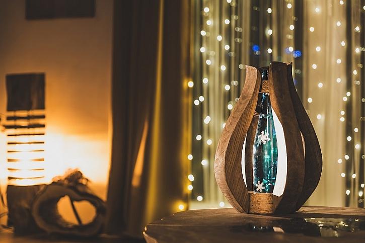 Vánoční lampa od Pepy to je prostě libovka