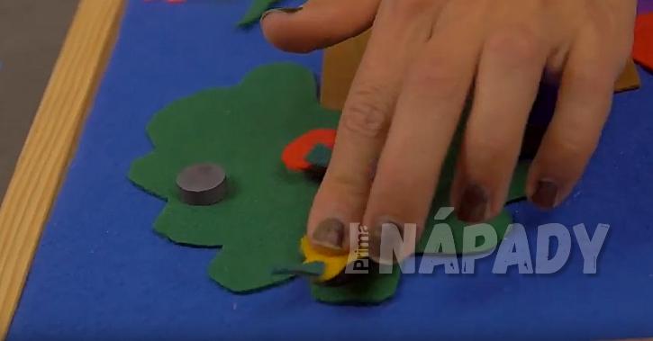 Magnetický obrázek pro děti: vytvořte magnety