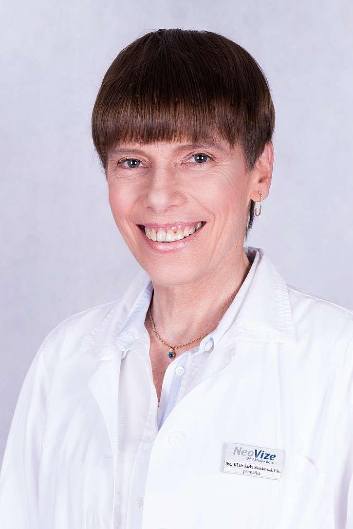 Doc. MUDr. Šárka Skorkovská, CSc_primářka Oční kliniky NeoVize Brno