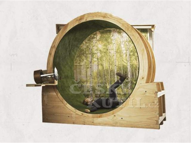 Pánský salon - epizoda 1, simulátor běhu v lese