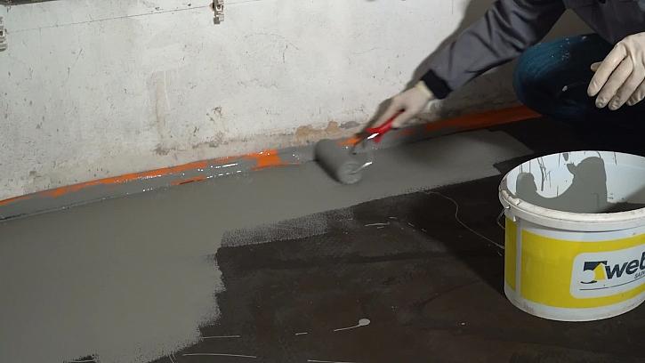 Fachmani lili epoxidové podlahy ve sklepě