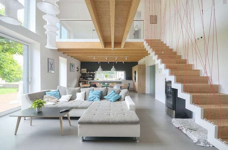 Dobře navržená a provedená rekonstrukce domu může nabídnout komfort bydlení odpovídající 21. století.