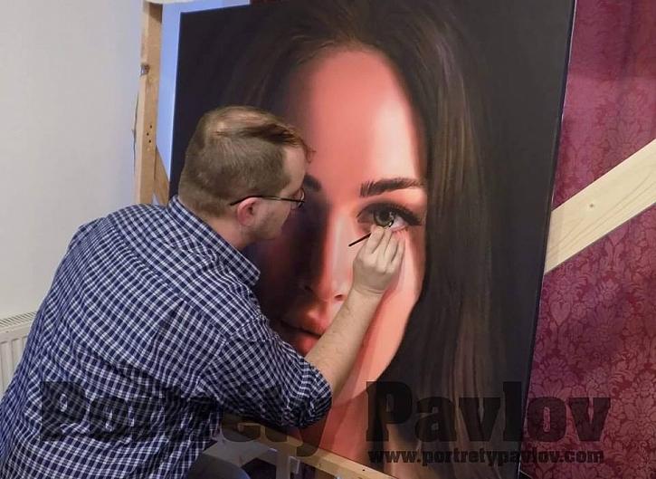 Na výstavě ART SALON se můžete setkat i s obrazy Alexandra Pavlova (Zdroj: Alexandr Pavlov)