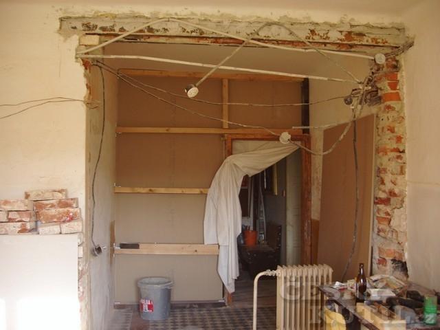 Nová kuchyň ve starším domě
