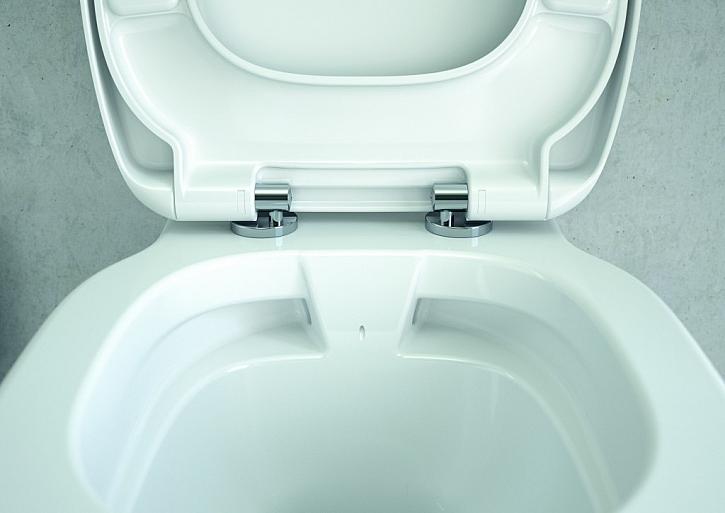 CONNECT RIMLESS - WC, které se čistí samo