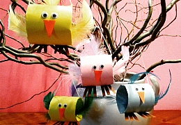 Jak si udělat radost veselou ptačí rodinkou aneb barevní zpěváčci