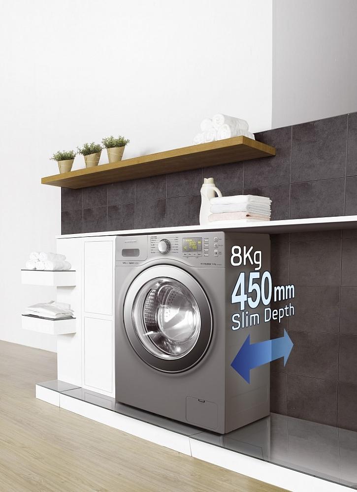 Samsung Eco Bubble: nechte své prádlo hýčkat