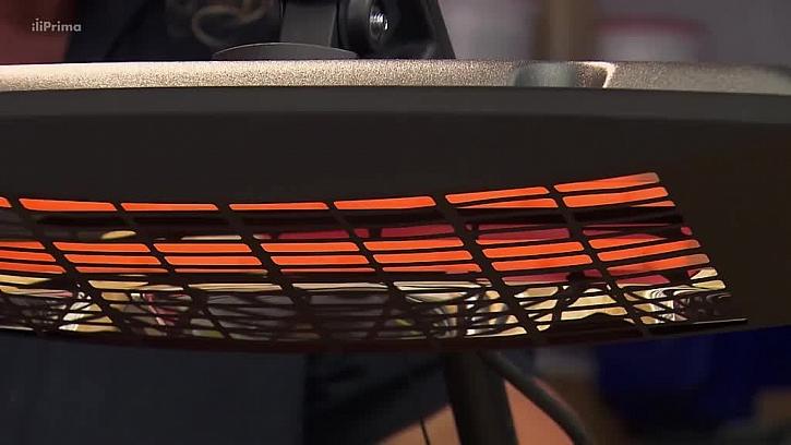 Horkovzdušný infrazářič