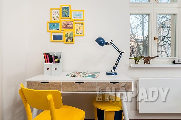 Žlutá barva oživí každý dětský pokoj (Zdroj: Balakryl)