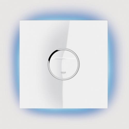 GROHE Ondus® Digitecture Light ovládací tlačítko, měsíční bílá