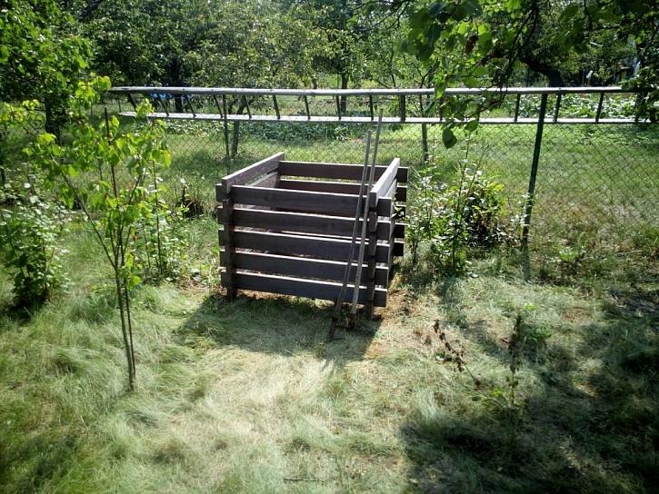 Betonový kompostér od společnosti Presbeton je prakticky nezničitelný