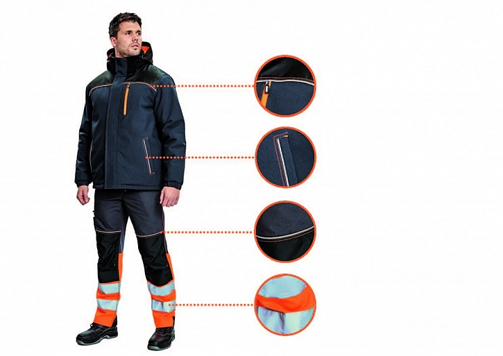 Výstražný oděv, design a funkčnost. To je kolekce Knoxfield