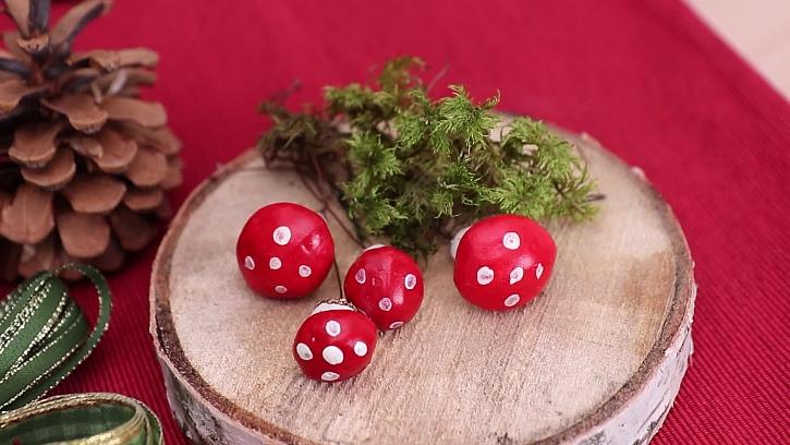 Mini houbičky a mech