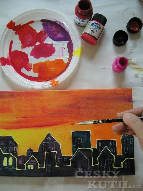 Jak při malování použít maskovací liner