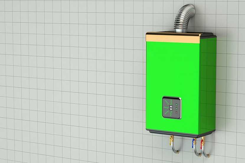 Plynový průtokový ohřívač vody, čili Karma