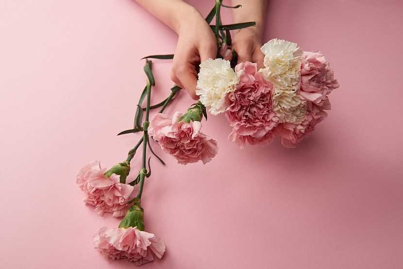 Vázání květin