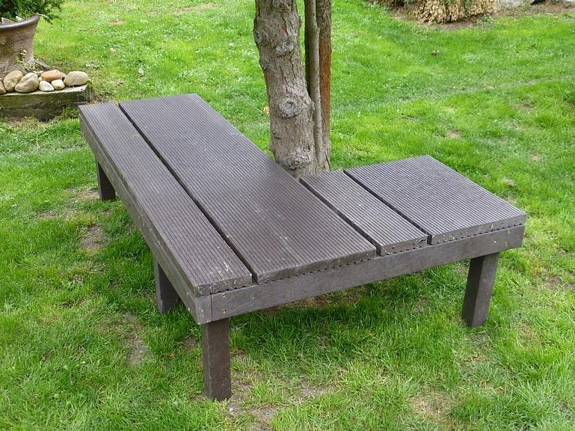 Jak vyrobit lavičku z Traplastu?