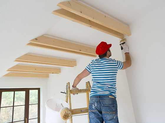 Před malováním si důkladně připravte podklad (Zdroj: Depositphotos)