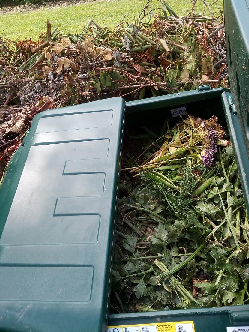 Otevřený kompostér