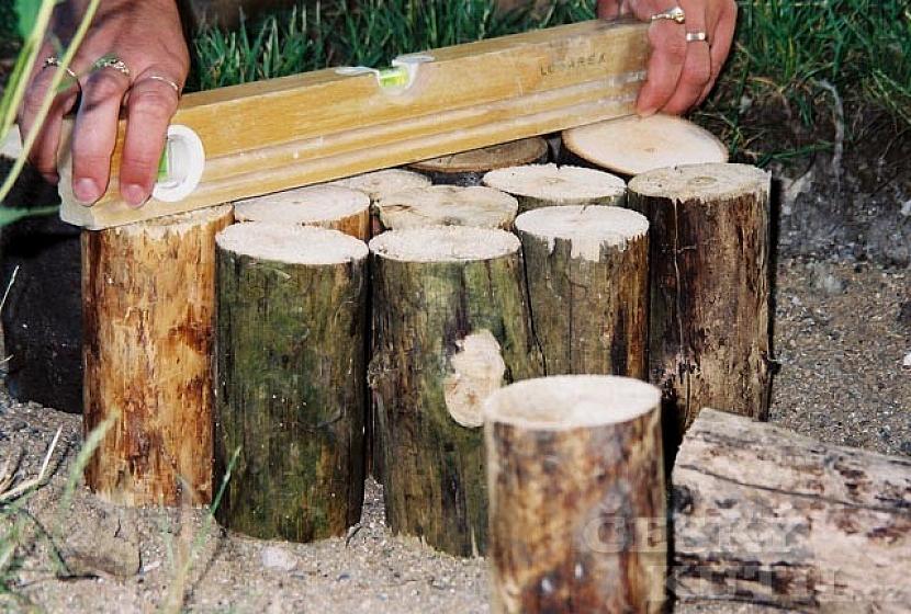 Dřevěný chodník