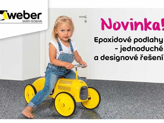 Epoxidová podlaha, jednoduché a designové řešení pro každý interiér (Zdroj: Saint-Gobain Česká republika, divize WEBER)