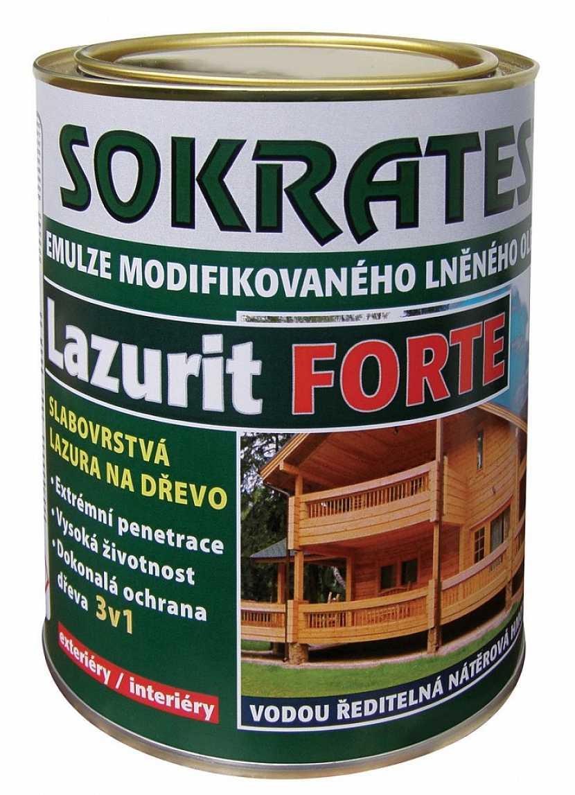 Slabovrstvá lazura Lazurit FORTE ochrání dřevěný nábytek až po dobu 5 let