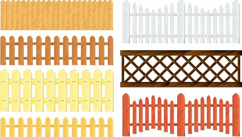 Plotová pole mohou mít různé tvary