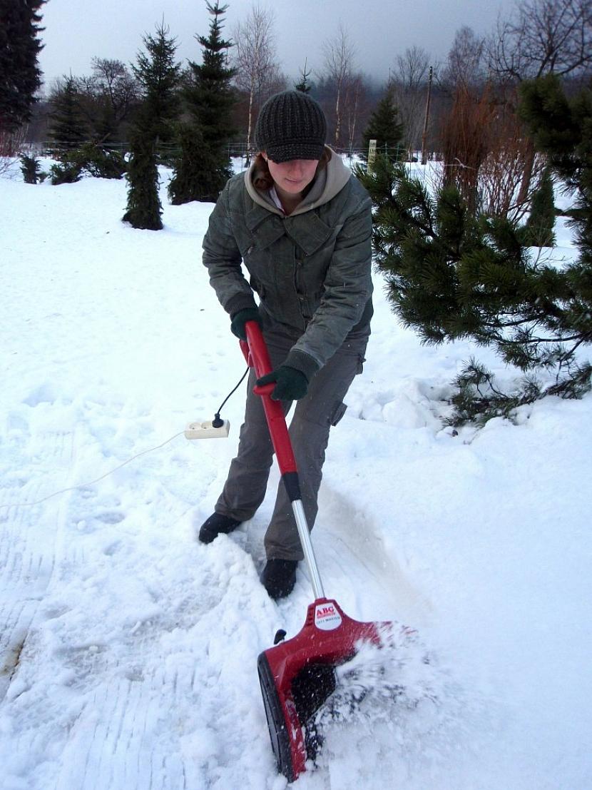Mechanické odklízení sněhu