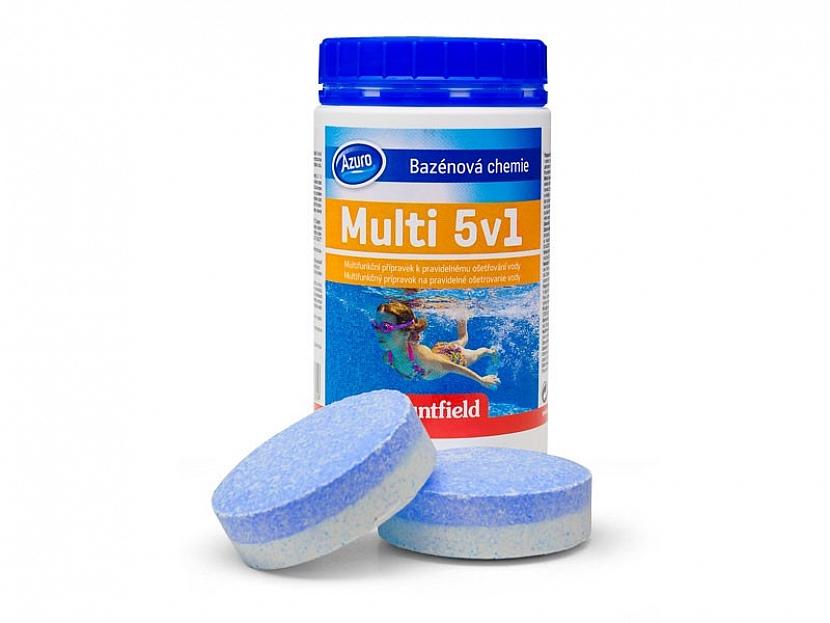 Péči o vodu velmi usnadňují multifunkční tablety. Umisťují se do plovoucího dávkovače