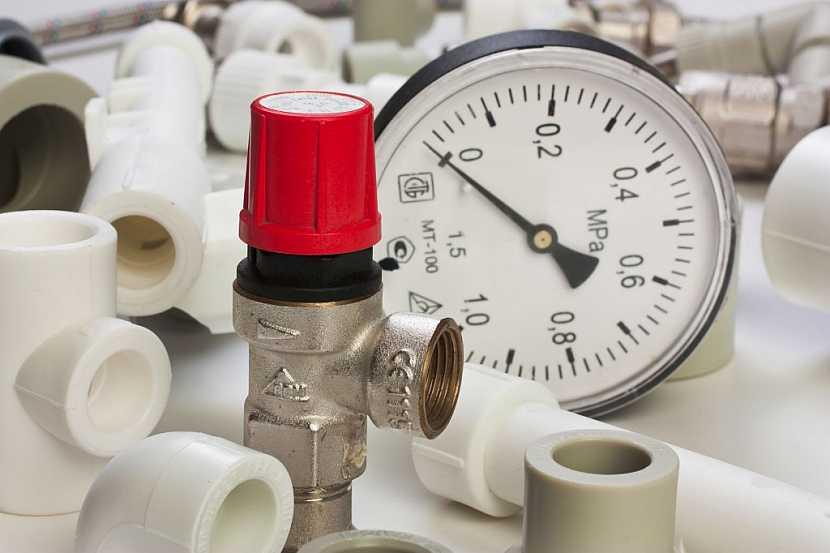 Rozvody vody se ukončují instalací vodoměrů