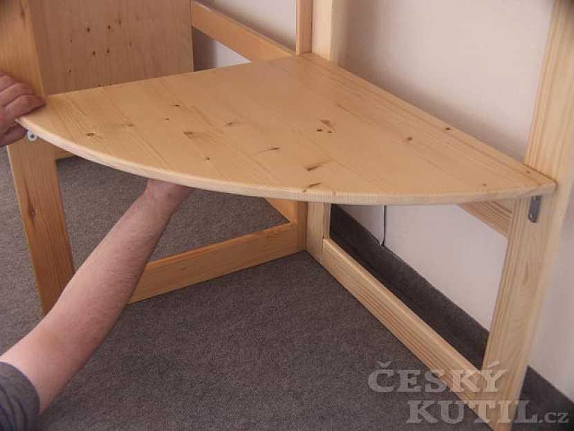 Návod - jak zvětšit dětský stůl