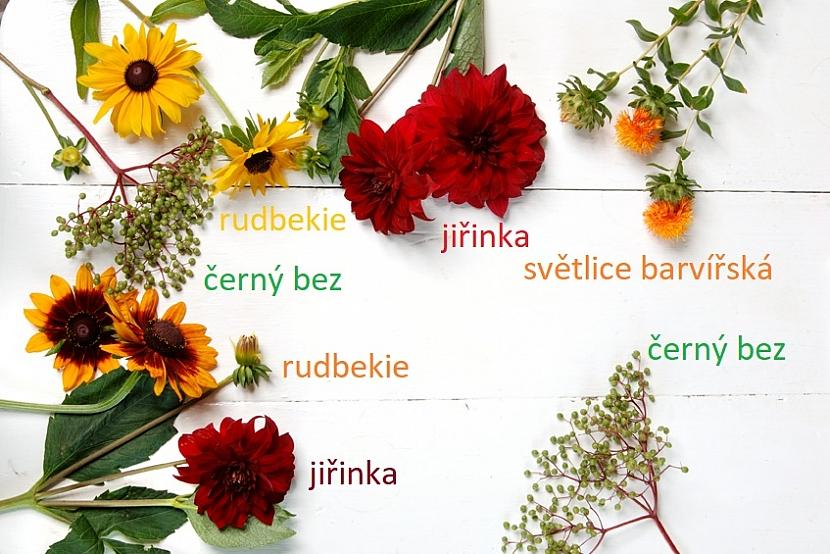 Okouzlující kytice pro měsíc září aneb Barvy podzimu už se hlásí ke slovu 2