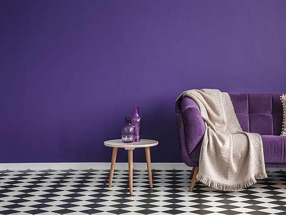 Podlaha se šachovnicovým vzorem vypadá luxusně (Zdroj: Depositphotos (https://cz.depositphotos.com))