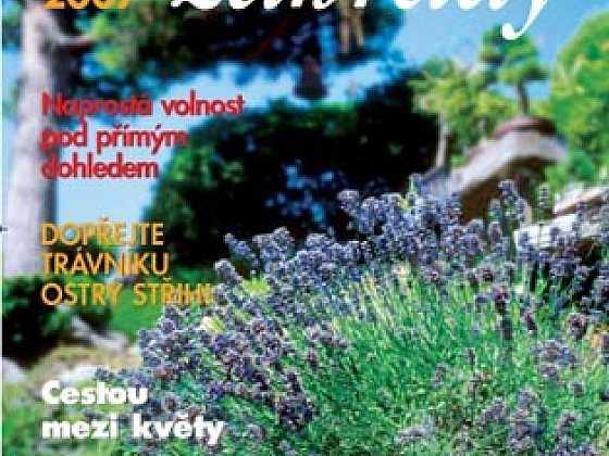 Vyšlo zvláštní vydání Chataře & chalupáře Kouzlo zahrady 2007
