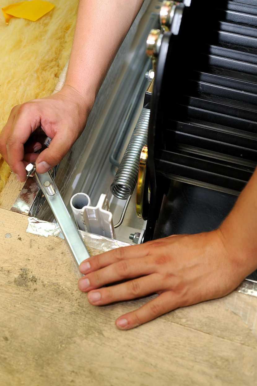 Upevnění kotevních šroubů