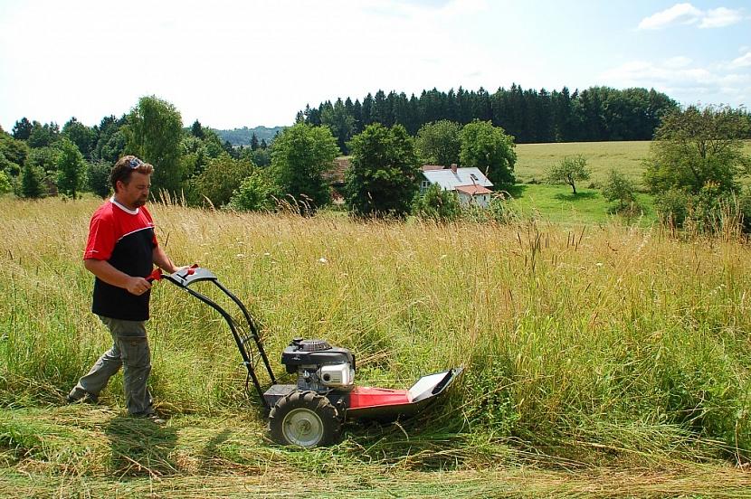 Lucina MaX zatočí s přerostlou trávou a umí i uklidit kolem domu